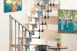 Centre du Bois Paul André - Escaliers traditionnels standard