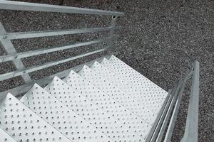 Centre du Bois Paul André - Escaliers extérieurs